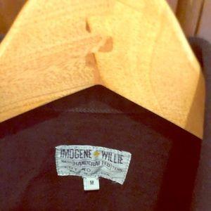Imogene + Willie black denim jacket nwot size Med